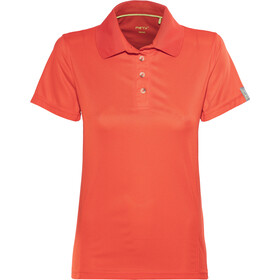 Meru Wembley Functioneel Poloshirt Dames, fiery red